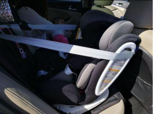 anclaje isofix y top tether